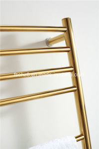 Lordliness Bathroom Accessory Stainless Steel Golden Towel Radiator (9006) pictures & photos