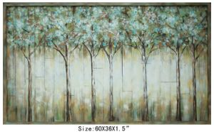 China Made 100% Handpainted Planked Birch Tree Wood Art (item#705664) pictures & photos