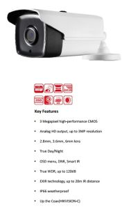 3MP WDR Exir Bullet Camera (AC335D-VB4Z) pictures & photos
