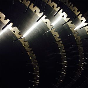 High Quality W Shape Segments 350mm Diamond Saw Blades for Granite pictures & photos