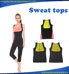 Lady Neoprene Burn Fat Hot Sweat Vest Bodysuit Shapers