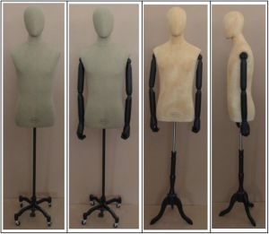 Dressmaker Male Half Body Mannequin for Garments pictures & photos