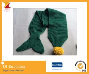 Winter Baby Mermaid Tail Shawl Scarf pictures & photos