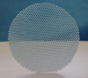 Polycarbonate Honeycomb Act as Filter in Refrigeration Showcase pictures & photos