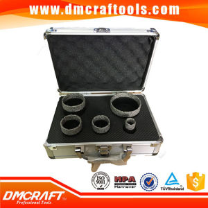M14 Brazed Diamond Core Bit Set/ Diamond Hole Saw Kit pictures & photos
