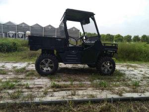Electric UTV 4X4 7.5kw Cargo Vehicle ATV Wholesale Utility Carts