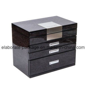 Customized Jewellry Storage Gift Wooden Box Drawer Box pictures & photos
