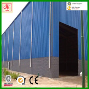 Prefabricated Building Round Roof Steel Structure Workshop pictures & photos