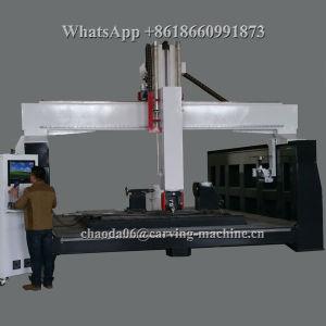 Cheap Price 3D Mould Sculpture CNC Router 5 Axis (JC3030) pictures & photos