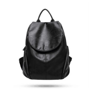2017 New Tide Backpack Bag Leather Fashion Simple Leisure Backpack (GB#777-8A) pictures & photos
