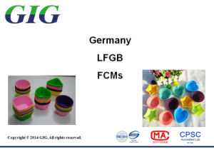 Germany Food Contact Material LFGB Testing Service pictures & photos