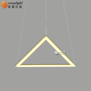 LED Crystal Pendant Lamps Triangle Decorative Pendant Lamps for Hotel Om66158 pictures & photos
