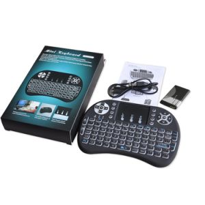 I8 Air Mouse with Backlit 2.4GHz Wireless Keyboard pictures & photos