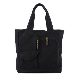 Waterproof Canvas Fabric Export Shopping Women Cheaper Bag (RS-rt00019) pictures & photos