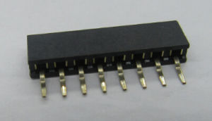 2.0*4.9mm Female Header, Side Entry, Single Row, SMT Version, Gold Flash pictures & photos