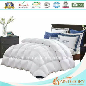 Luxury Warm White Duck Down and Feather Duvet Goose Down Comforter pictures & photos