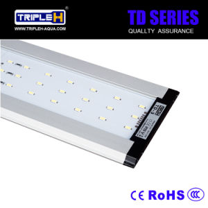 Made in China Fish Tank LED Aquarium Light with Stainless Steel Frame pictures & photos