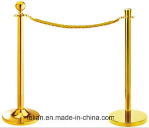 Customize Queue Rope Barrier Pole (LL-RP001) pictures & photos