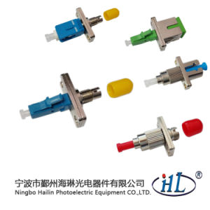 Sc/Male-DIN/Female Optic Fiber Hybrid Adaptor for Fiber Optic Closure pictures & photos