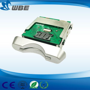 Contactless MIFARE RF Card Reader Manual Insertion Card Reader and Writer pictures & photos