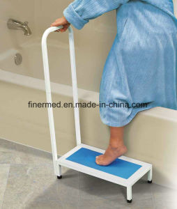 Portable Bath Step Stool with Handrail pictures & photos