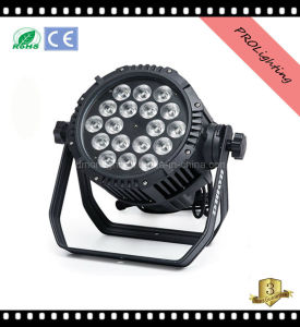 Waterproof 18PCS 10W 5in1 LED Wallwash PAR Light