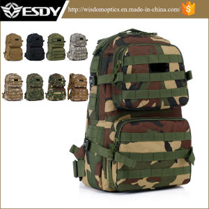 Eight Colors Tactical Assault Outdoor Camping Rucksack Camouflage Backpack pictures & photos