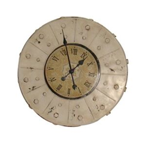 Iron Craft Decoration Wall Clock, Round Shape pictures & photos