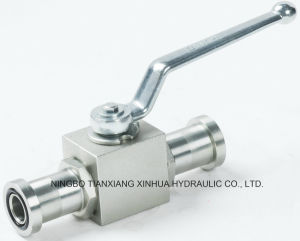 Carbon Steel Flange Type Ball Valve pictures & photos