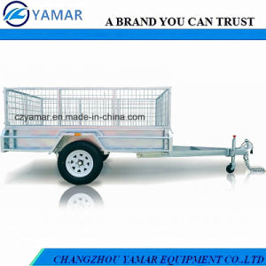 Utility Box Trailer with Cage pictures & photos