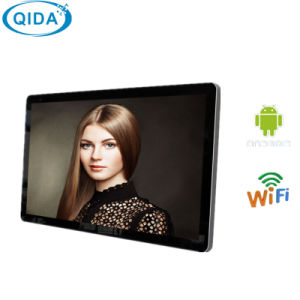"18"" Wall Mount Signage LCD Digital Photo Frame WiFi Manufacturer pictures & photos"