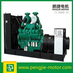 4 Cycle Water Cooled Electric Start Diesel Engine Open Type Generator