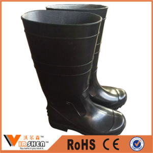 Chemical Resistant Industrial Safety Rubber Boots for Building Construction pictures & photos