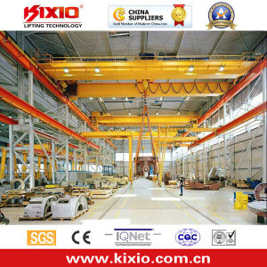 Double Girder Overhead Crane with Electric Chain Hoist pictures & photos