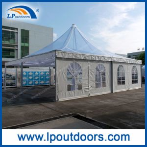 10X10m Outdoor Luxury Clear Roof Marquee Pagoda Tent for Wedding pictures & photos