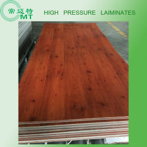 Wood Grain Laminate Kitchen Cabinets/Formica Wall Panels pictures & photos