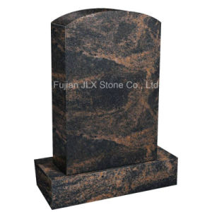 Wholesale Simple Cutting Granite Memorial Monuments in American Style pictures & photos