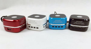 Portable LED Magic Square Cube Wireless Customized Mini Tooth Bluetooth Speaker pictures & photos