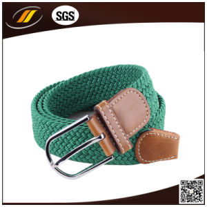 New Unisex Women Men Stretch Braided Elastic Belt (HJ5114)