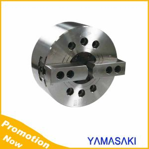 Wedge-Hook Type 2-Jaw Through-Hole Power Chuck pictures & photos