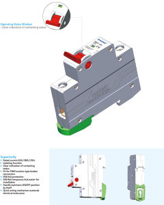 Tmh1-125 Isolator Switch with IEC60947-3 Standard pictures & photos