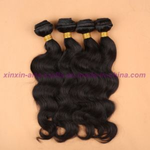 Indian Body Wave 8A Grade Virgin Hair Body Wave Soft Human Hair Weave Bundles pictures & photos