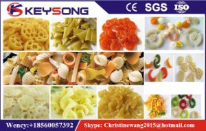 Single Screw Extruder for Pellet Snacks pictures & photos