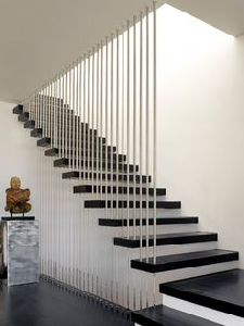 Interior Steel Glass Stair, Modern Steel Glass Stair, Indoor Glass Fencing Stairs pictures & photos