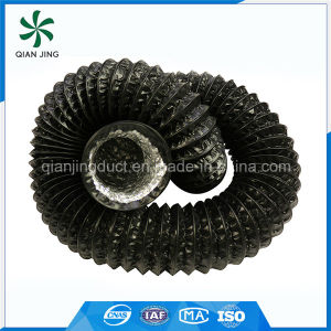 Black Combi PVC Aluminum Flexible Duct for Air Conditioning System pictures & photos