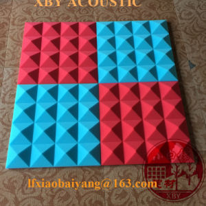 Polyurethane Acoustic Foam in Wedge Shape for Sound Absorption Acoustic Panel Wall Panel Decoration Panel Ceiling Panel pictures & photos