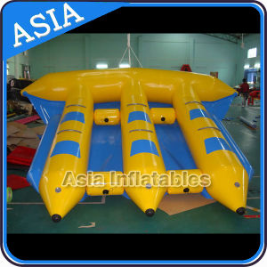 6 Seat Inflatable Towable Flyfish for Kids and Adults, Inflatable Sports Water Flying Fish pictures & photos