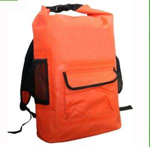 500d PVC Tarpaulin Outdoor Waterproof Dry Backpack Bag pictures & photos