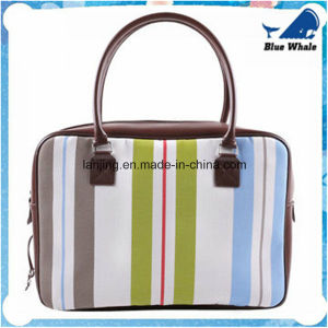 Bw288 Customized Woven Vinyl Braiding Fabric Business Bag pictures & photos
