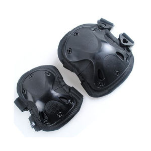 Tactical Military Soft Black Combat Airsoft Knee and Elbow Pads pictures & photos